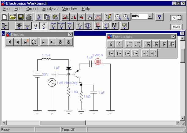 electronics workbench v5.12